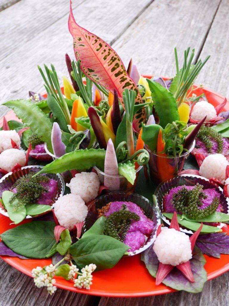 島野菜で春のウキウキ♪お祝いお料理