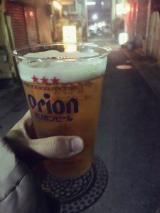 沖縄の湿度とオリオンビール