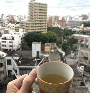 あこがれの玄米茶