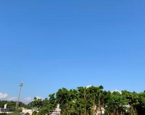 4月18日 今日の沖縄は雲ひとつない快晴!