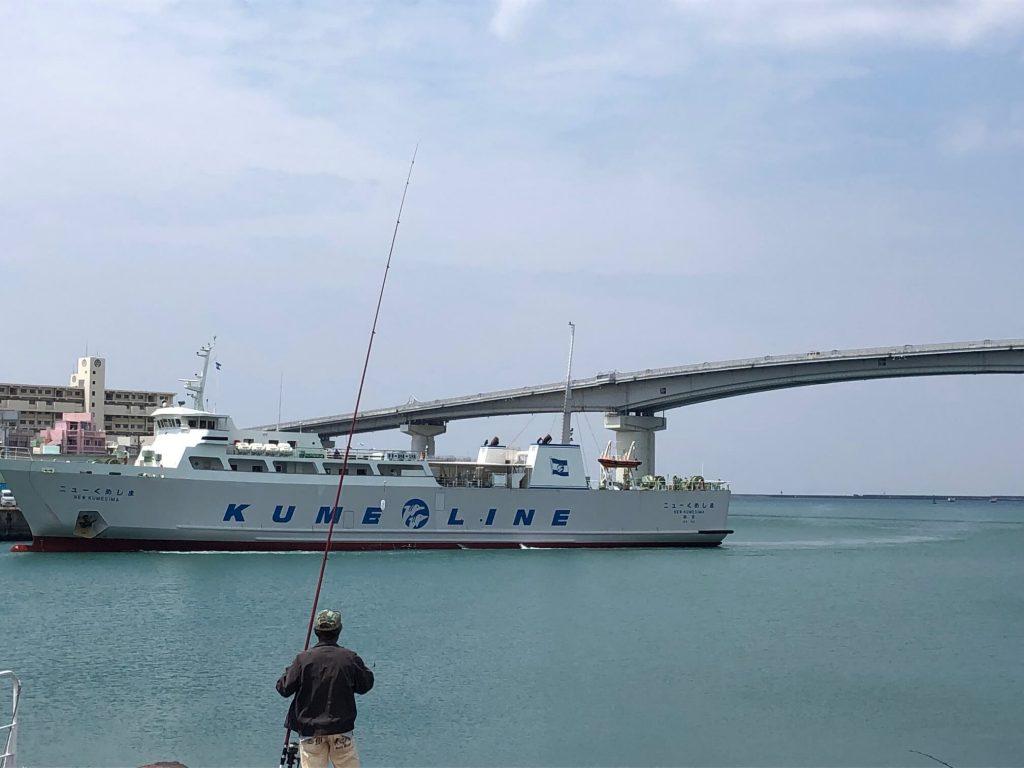 4月4日。今日の沖縄は曇り時々晴れ