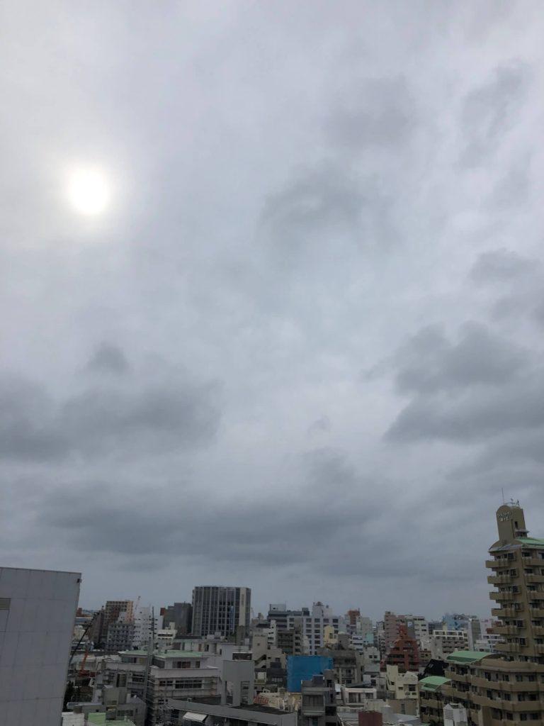 5月27日 今日の沖縄は、曇り