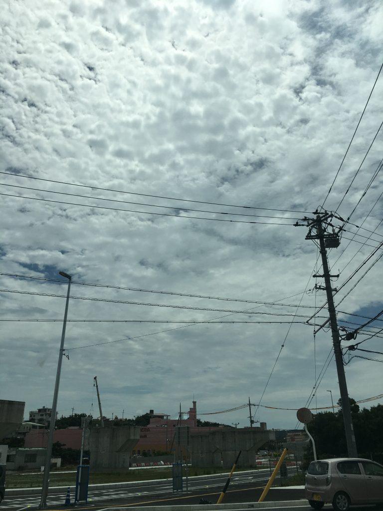 5月7日 今日の沖縄は、太陽雨だ