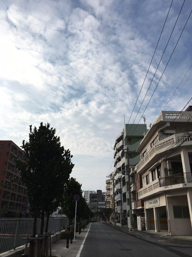5月8日 今日も雲が、もくもく空