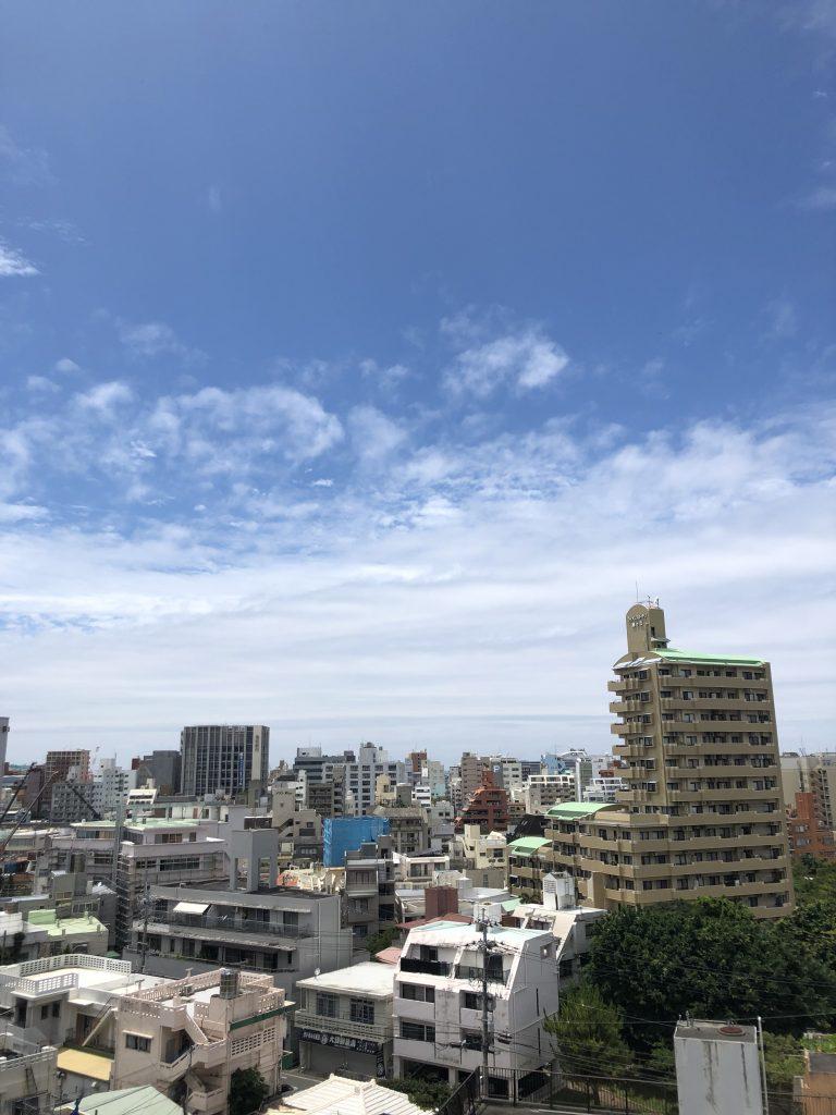 5月29日 今日の沖縄、くもりのち晴れ