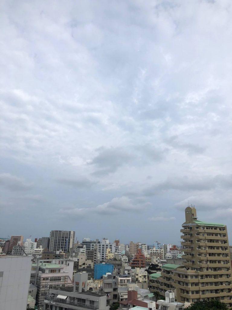 6月13日(旧暦5/11)今日の沖縄は曇り