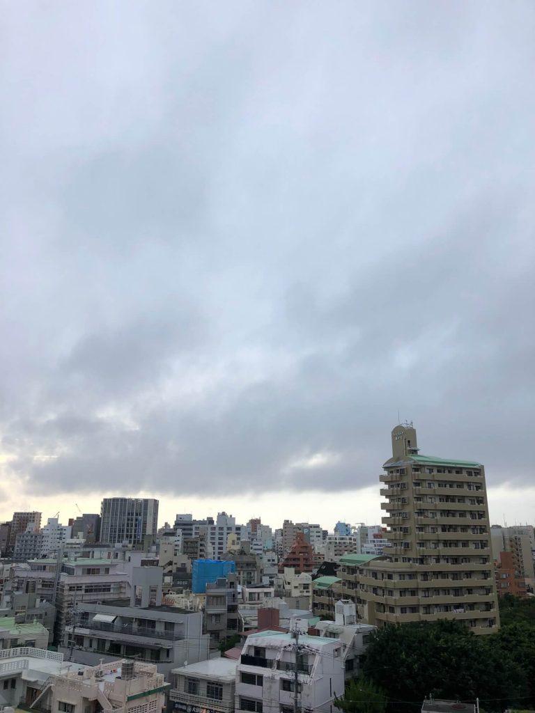 6月19日(旧暦5/17)今日の沖縄は曇り